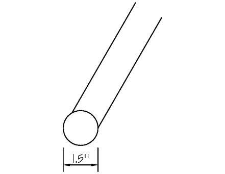 1.5inch round diagram