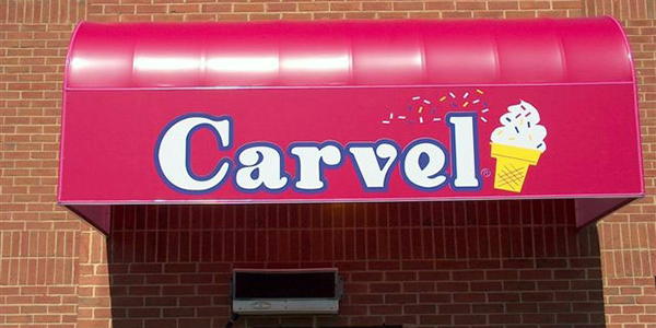 carvel ice cream awning
